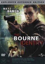 The Bourne Identity (DVD 2004) Explosive Extended Edition R-4 Brand New & Sealed