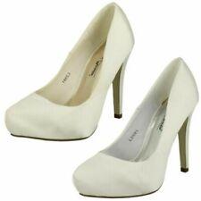 Mujer Anne Michelle Plataforma Zapatos de Boda