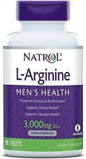 Natrol L-Arginine 3000mg 90 Tablets