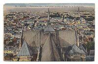 reims  panomara est  vue prise en 1914 du haut de la cathédrale