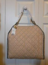 NWT Auth $1280 Stella McCartney Baby Bella Quilted Shoulder Bag Handbag  Powder