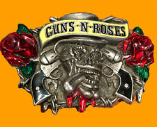 Guns N Roses Concert Ticket VIP Pass Pick Buckle Axl Slash Lot Set Band Rock GR