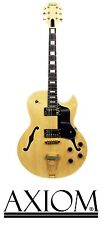 Axiom Columbia Electric Jazz Guitar - Natural