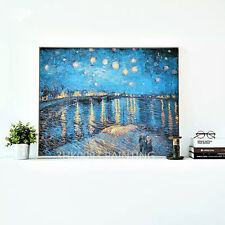 ZWPT49 charmin abstract 100% hand-painted Under the stars oil painting on Canvas