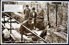 Uk~Ireland~1920's Cork ~ Kissing The Blarney Stone ~ Blarney Castle ~ Rppc