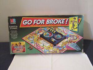 GO FOR BROKE 1993 GAME PARTS ( choose ).