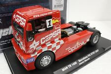 FLY 203301 MAN TR 1400 BARCELONA FIA ETRC 2007 NEW 1/32 SLOT CAR W/ DISPLAY