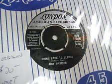 Roy Orbison There Won't Be Many/Going Back To Gloria 45 RPM UK London VG+