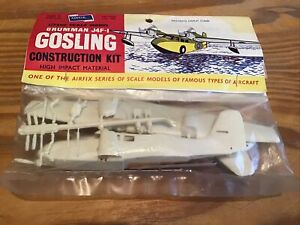 Airfix Grumman J4F-1 Gosling 1/72 Model Kit In Original Bag 1958 Vintage Sealed