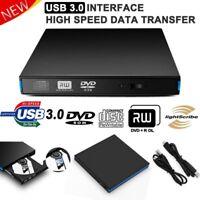 Schlanke externe DVD RW Writer-Laufwerk Brenner Leser CD-Player für Laptop PC