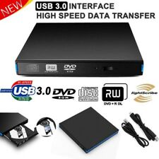 Slim External USB3.0 DVD RW CD Writer Drive Burner Reader Player For Laptop PC Z