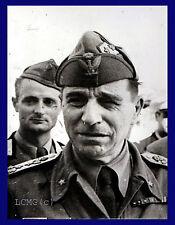 FOTOGRAFIA PRESS PHOTO 1972 MORTO MARESCIALLO ETTORE BASTICO GOVERNATORE LIBIA