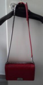 Rarität ' limited colour Chanel boy bag , silberfarbene Beschläge wie Neu
