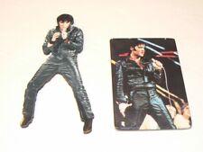 Two Vintage Elvis Presley Refrigerator Magnets