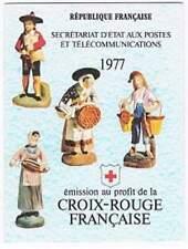 Frankrijk booklet postfris 1977 MHN 2054-2055 - Rode Kruis / Red Cross (K030)