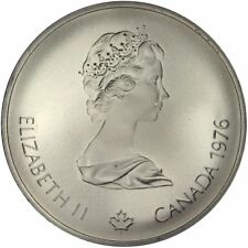 [#31319] CANADA, 10 Dollars, 1976, Royal Canadian Mint, KM #111, MS(63), Silver