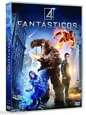 CUATRO FANTASTICOS DVD LOS 4 FANTÁSTICOS NUEVO ( SIN ABRIR )