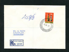 RSA - Nr. 323 Reko aus Pretoria 1967. Sonderstempel   (RSA)