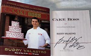 SIGNED Buddy Valastro CAKE BOSS Book 1st Edition HC DJ TLC Baking Star Cakes