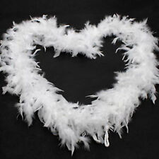 1920s Flapper Feather Boa 20s Party white Boa Fancy Dress Up Costume Halloween