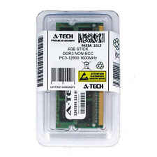 Atech 4GB SODIMM DDR3 Laptop PC3-12800 12800 1600MHz 1600 204-pin Ram Memory