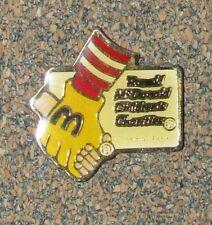 B5  PIN VINTAGE PINS MC DONALD RONALD CHILDREN'S CHARITIES