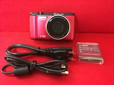 USED CASIO EXILIM digital camera high speed comfortable shutter red EX- ZR1000RD