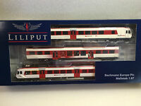 Liliput L133942 Railcar 3 Car 'Regionalps' SBB-CFF Epoche V New Boxed T48 Post