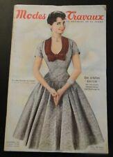 Magazine Modes & Travaux Décembre 1955 complet
