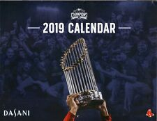 Boston Red Sox--2019 Calendar/Schedule--Coke/Dasani