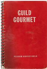 *OTTAWA IL 1949 ANTIQUE *GUILD GOURMET *ETHNIC COOK BOOK *CONGREGATIONAL CHURCH