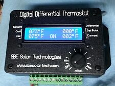 SBE Solar Tech Digital Differential Thermostat w/Pwr Supply & Solid State Relay