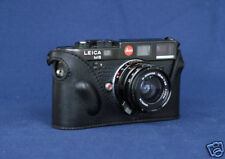 Mr.Zhou Black Leather Half Case for Leica M2 M3 M4 M6 M7 MP Cameras