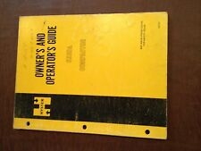 HYSTER COMPACTOR OWNER'S OPERATOR MANUAL C330A 330 MAINTENANCE