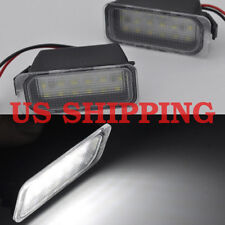 2x white LED License number Plate Lights For Ford kuga 08-12 First gen fiesta