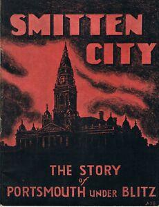Book Smitten City Portsmouth Under Blitz 1940-44., 62 Pages Photos & Text   V/G