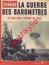 La semaine n°122 du 03/12/1942 Front de l'Est Pierre Véry Météorologie guerre