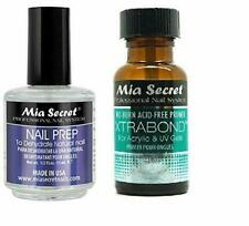 Mia Secret Professional Natural Nail Prep Dehydrate and Xtra Bond Primer 0.5 Oz