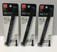 Lot 3 Revlon Colorstay Brow Mousse # 405 Soft Black New Sealed