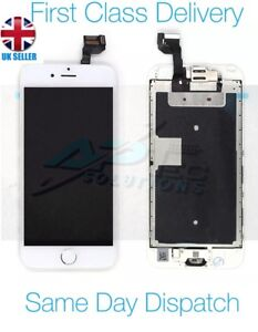 Original Apple iPhone 6S 4.7' White LCD Screen with Camera, Speaker and Adhesive