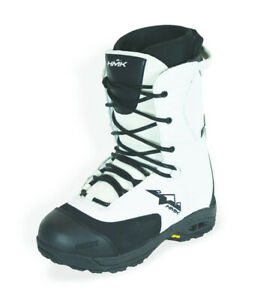 HMK Men's Size 5 Team White Snowmobile Snocross Waterproof Boot