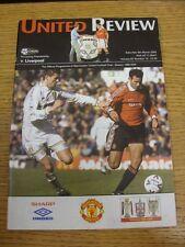 04/03/2000 Manchester United v Liverpool [Championship Season] . Thanks for view