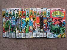 NOS> NM > Lot of 14 GODZILLA 10 - 23 comic book >CGC READY !  BIG AUCTION