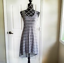 NWT Converse Dress Size Small S Gray Grey White Striped One Star New