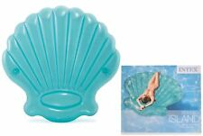 INTEX 57255 GONFIABILE PISCINA LETTINO GALLEGGIANTE Seashell ISOLA GRANDE Lilo