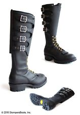 """Stompmaster - 18"""" Black Boots"""
