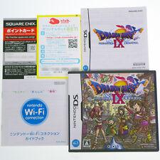 Nintendo DS Dragon Quest IX 9 Hoshizora no mamoribito Japan Import Complete RARE