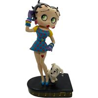 "Danbury Mint Betty Boop Betty Sings the Blues Collector Figurine 1995 6.5"" Tall"