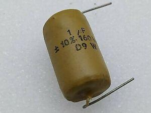 RARE NOS MULLARD 0.068uF 68nF 68000pF 68K 500 V Vintage Condensateur