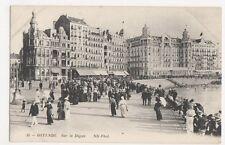 Belgium, Ostende, Sur la Digue ND 35 Postcard, B231